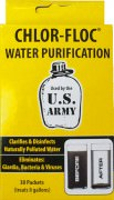 Очистка воды Chlor-Floc US Military Water Purification Powder Packets (30 pack)