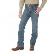Wrangler Men's Cowboy Cut Slim Fit Jean Rough Stone 0936RST