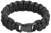 Rothco Solid Color Paracord Bracelet Black 925
