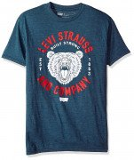 Levis Mens Juggler T-Shirt Navy Heather