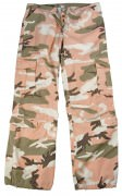 Rothco Womens Vintage Paratrooper Pant Subdued Pink Camo 3996