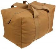 Сумка Rothco Canvas Parachute Cargo Bag - Coyote Brown # 3123