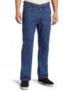 Lee Men's Regular Fit Straight Leg Jean Pepper Stonewash