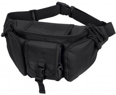Сумка поясная Rothco Tactical Concealed Carry Waist Pack Black 4957, фото