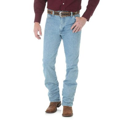 Джинсы мужские Wrangler Cowboy Cut® Slim Fit Jean Antique Wash 0936ATW, фото