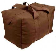 Сумка Rothco Canvas Parachute Cargo Bag - Earth Brown # 3523