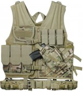 Жилет разгрузочный Rothco Cross Draw Tactical Vest - MultiCam™ - 6384
