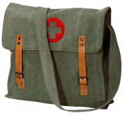 Rothco Vintage Medic Bag With Cross Olive Drab 9141