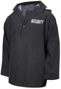 Rothco Security Rain Jacket Black 36651
