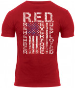 Rothco Athletic Fit R.E.D. (Remember Everyone Deployed) T-Shirt 1182