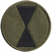 7th Infantry Division Patch 72136