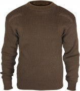 Rothco GI Style Acrylic Commando Sweater Brown 5415