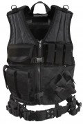 Rothco Cross Draw MOLLE Tactical Vest Black 6491