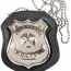 Rothco NYPD Style Leather Badge Holder w/ Clip - 1135 - Держатель для полицейского жетона Rothco NYPD Style Leather Badge Holder w/ Clip - 1135