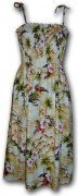 Pacific Legend Hawaiian Tube Dress - 332-3238 Maize