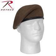 Rothco G.I. Type Inspection Ready Beret Brown 4981