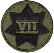 7th Corps Patch 72135