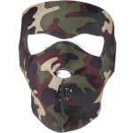Маска неопреновая Rothco Neoprene Reversible Face Mask - Camo & Black