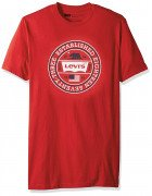 Levis Mens T-Shirt Bangkok Red