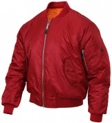 Rothco MA-1 Flight Jacket Red