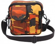Rothco Camo Excursion Organizer Shoulder Bag Savage Orange Camo