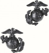 Петлицы Enlisted Marine Corps Dress Collar Insignia - Subdued