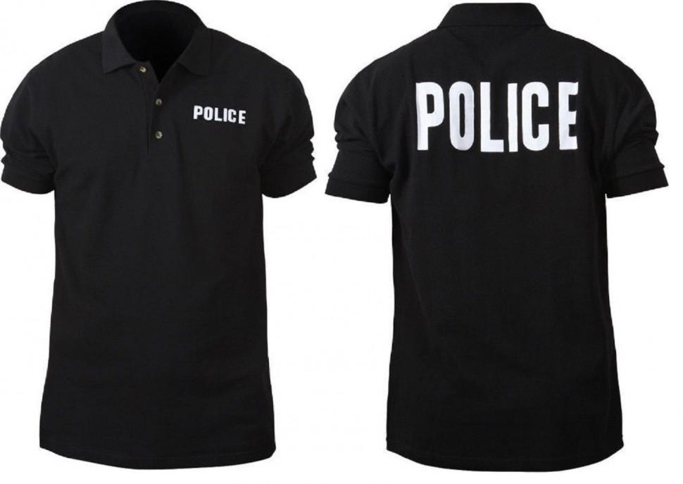 1f21c5e172c2c Футболка поло Rothco Polo Shirts Police Black 7698