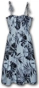 Pacific Legend Hawaiian Tube Dress - 332-3589 White