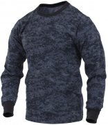 Rothco Long Sleeve T-Shirt Midnite Digital Camo - 68947