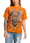 The Mountain T-Shirt Resting Tiger Collage 105889