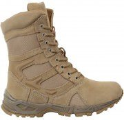 "Rothco Forced Entry Deployment Boots 8"" - Desert Tan / Side Zipper # 5357"