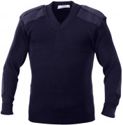 Rothco G.I. Style Acrylic V-Neck Sweater Navy Blue 6345