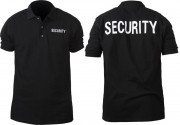 Rothco Polo Shirts Security Black 7698