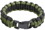 Rothco Two-Tone Paracord Bracelet Olive Drab / Black 921