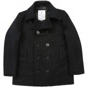 Rothco US Navy Type Peacoat Black 7070