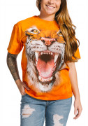 The Mountain T-Shirt Roaring Tiger Face 105911