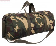 Сумка Rothco Heavyweight Canvas Shoulder Bag - Woodland Camo # 2234