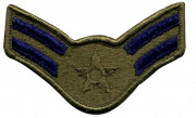 Subdued USAF Airman 1st Class 1986-1992 Patch 72173