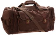 Сумка Rothco Canvas Long Weekend Bag - Brown # 9689