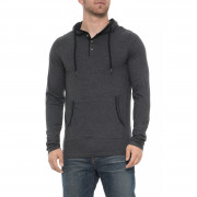 Lee Clarke Hoodie Heather/Charcoal