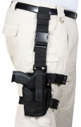 Rothco Deluxe Adjustable Drop Leg Tactical Holster Black 10752