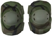 Rothco Tactical Elbow Pads Woodland Camo 11057