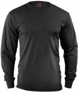 Rothco Long Sleeve T-Shirt Black 60212