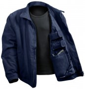 Rothco 3 Season Concealed Carry Jacket Navy Blue 54385