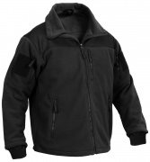 Rothco Spec Ops Tactical Fleece Jacket Black 96670