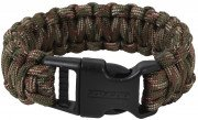 Rothco Deluxe Paracord Bracelets Woodland Camo 978