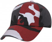 Rothco Supreme Camo Low Profile Cap Red Camo 7955