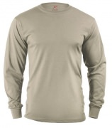 Rothco Long Sleeve T-Shirt Sand 8597