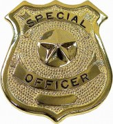 Rothco Special Officer Badge Gold - 1906