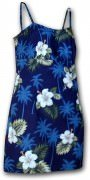 Pacific Legend Short Spaghetti Dress - 306-2798 Navy